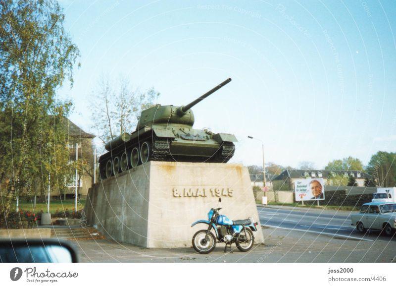 Chemnitz Panzer historisch gepanzert Chemnitz Sachsen