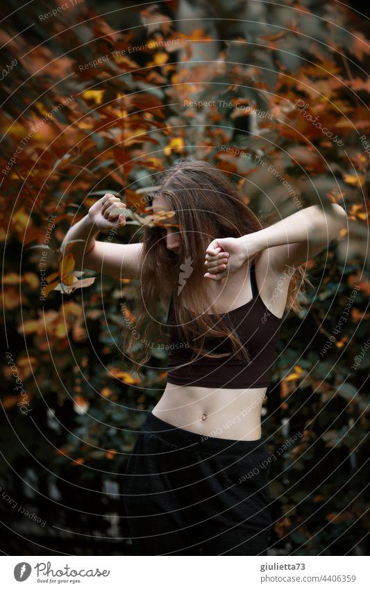 Musik wäscht den Dreck des Lebens von der Seele Porträt Lebensfreude Lebendigkeit Leichtigkeit Tanzen Freiheit anders sein unangepaßt Individualität Farbfoto