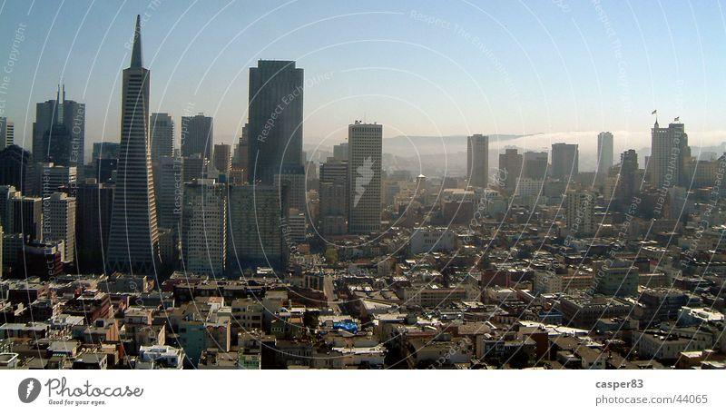 Go west Stadt Haus Hochhaus Skyline New York City San Francisco