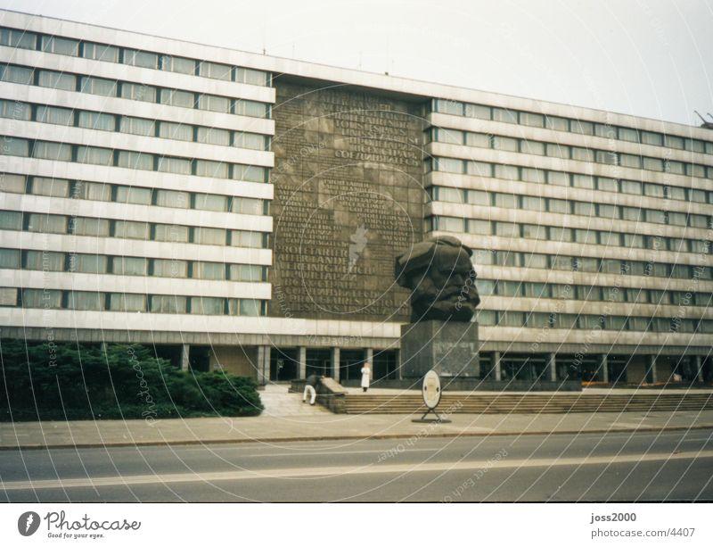 Karl-Marx in Chemnitz DDR Osten Sachsen