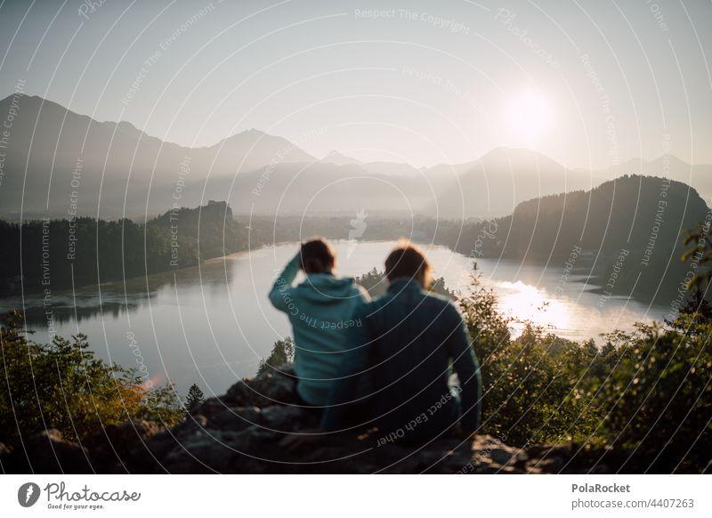 #A# Wenn man anderen Leuten die Kamera in die Hand gibt.. Slowenien Berge u. Gebirge Sonnenaufgang Abenteuer Wanderung Natur Landschaft Außenaufnahme wandern