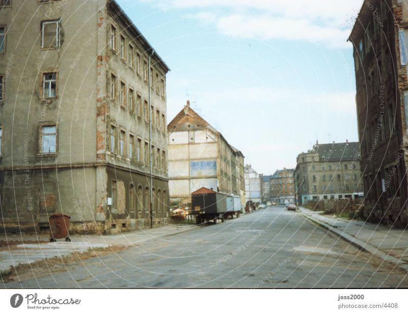 Chemnitz-Sonnenberg 1990 historisch