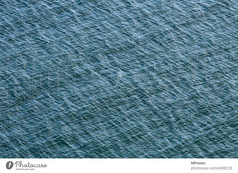 h2o meer wasser see Wellen Blau ostsee Nordsee Textur rauschen Struktur Außenaufnahme Menschenleer
