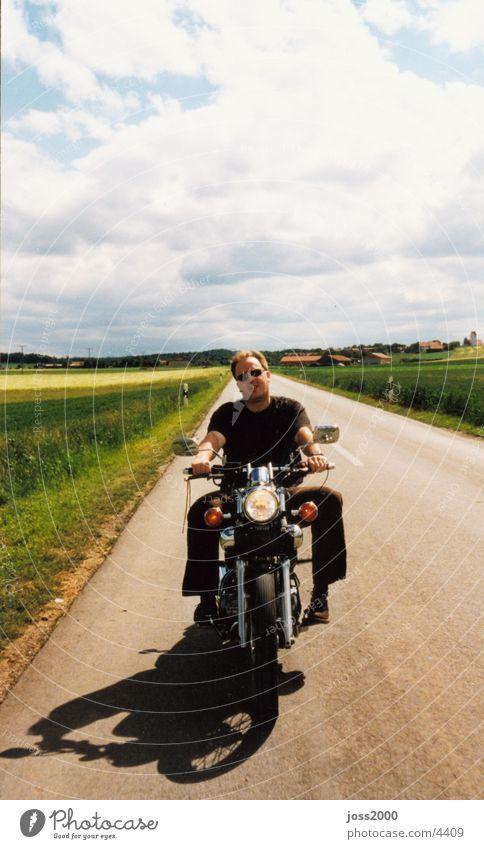 Coppern in Bayern Motorrad fahren