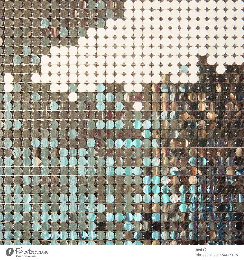 Punktgleich Dekoration & Verzierung Farbfoto geheimnisvoll unklar rätselhaft Menschenleer Grafik u. Illustration Design Strukturen & Formen Muster