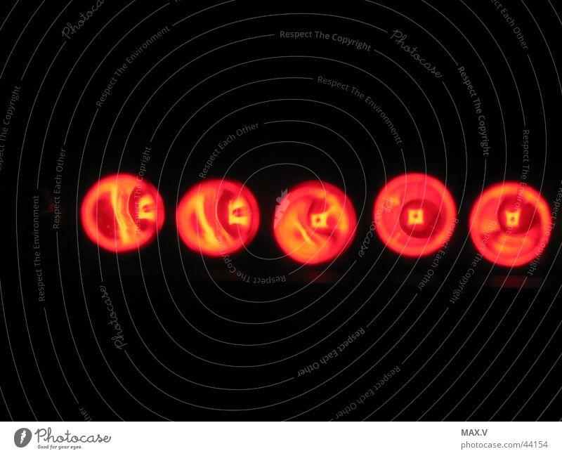 LEDs im Dunkeln rot Industrie Leuchtdiode