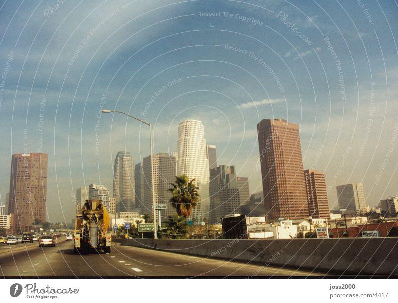 Los-Angeles USA Skyline Kalifornien Fototechnik Los Angeles
