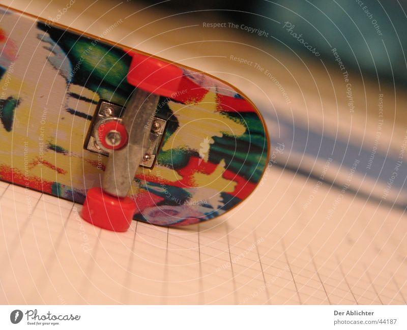 Skateboard Sport Stern (Symbol) retro Schreibtisch Skateboarding Rolle Unterlage Schreibunterlage