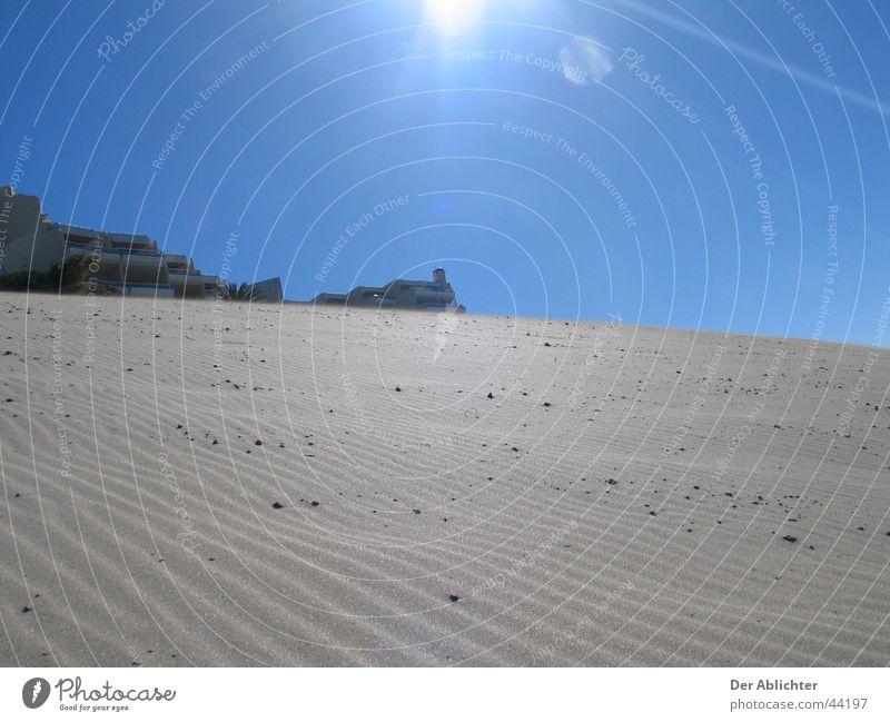 Jetzt ein kühles Bier! Himmel Sonne Strand Sand Europa Wüste Hafen Dorf Lava Fuerteventura Esquinzo Morro Jable