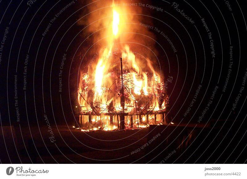 Osterfeuer Dinge Feuerstelle Brand