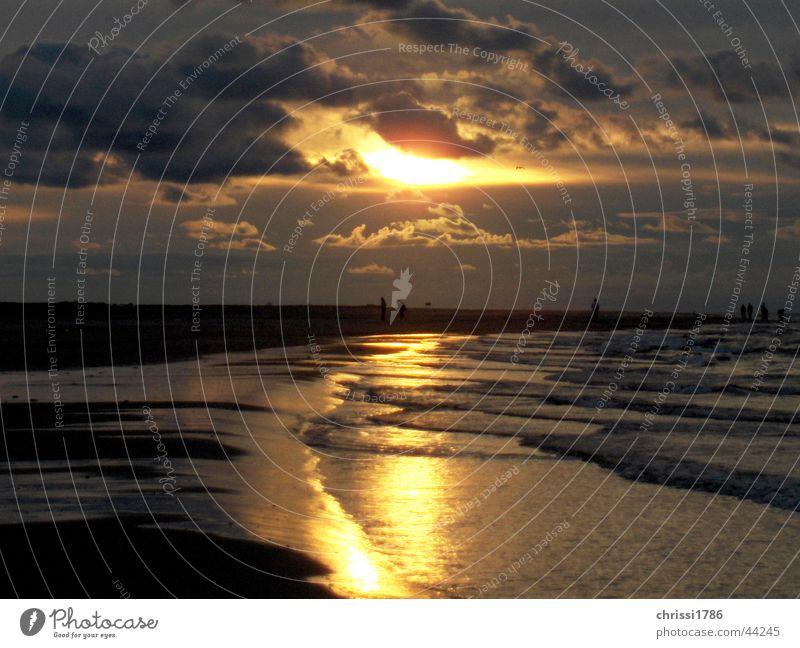 Skagen schön Europa Flut Ebbe Nordseekap Ostseekap