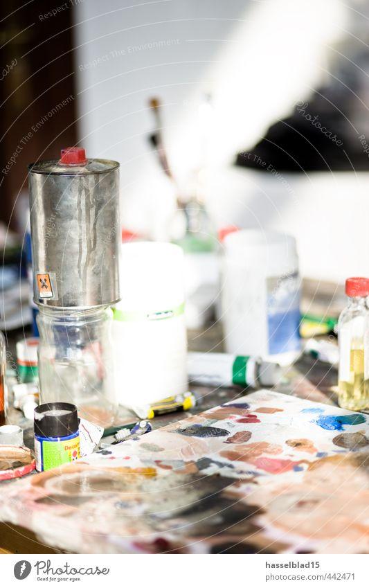 kreativ.bunt schön Erholung ruhig Freude Leben Gefühle Farbstoff Stil Glück Kunst Arbeit & Erwerbstätigkeit elegant Design Beginn lernen Kreativität