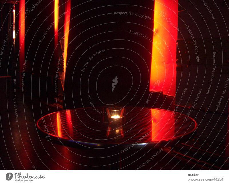 ... einladend ... rot Freizeit & Hobby Tisch Kultur Kerze Nachtleben