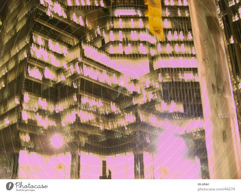 Close On Explosion Stil Langzeitbelichtung Toronto Hochhaus Licht Kanada hell Architektur