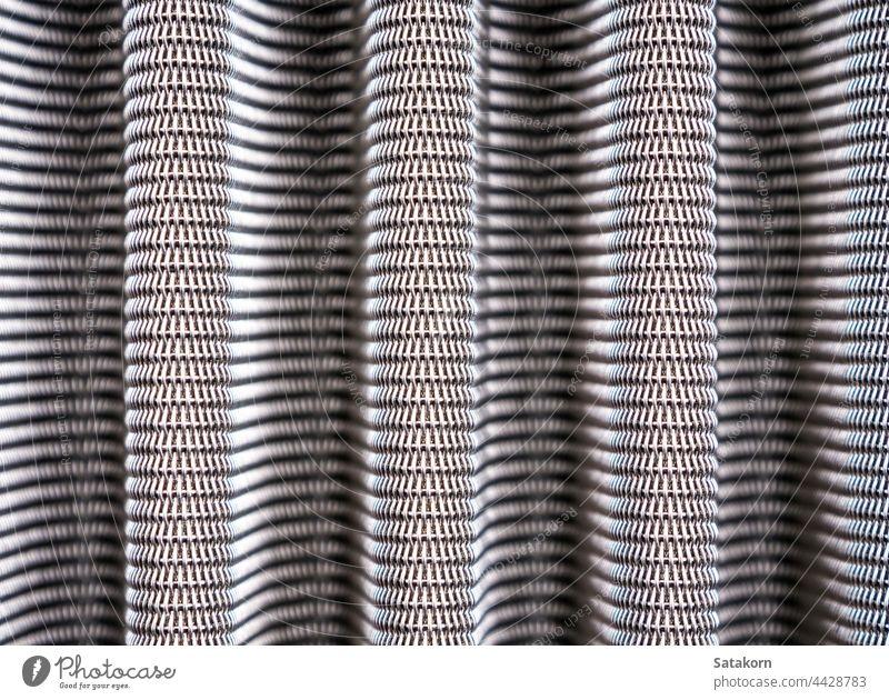Metallgittertextur des Fahrzeugluftfilters Filter Raster Textur Detailaufnahme Stahl Muster Hintergrund abstrakt PKW industriell Scheitel bügeln Automobil