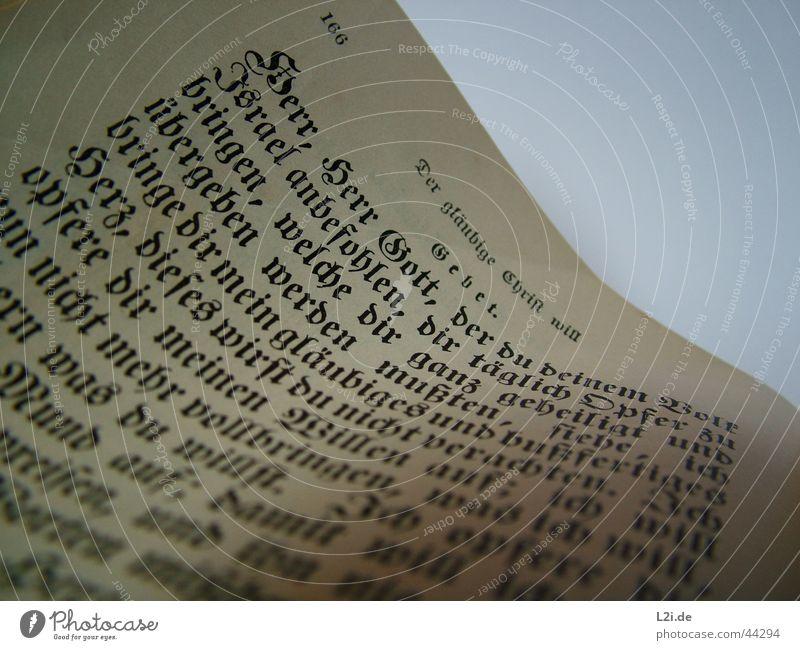 The Prayer alt Blatt Buch Schriftzeichen Ziffern & Zahlen Seite historisch Gebet Gott Christentum Götter Bibel Israel Opfer Naher und Mittlerer Osten