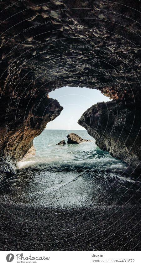 cretan cave kreta griechenland Kreta Höhle Mittelmeer Küste Urlaub Griechenland Ferien & Urlaub & Reisen Sommer Tourismus Strand Landschaft Erholung Idylle Meer