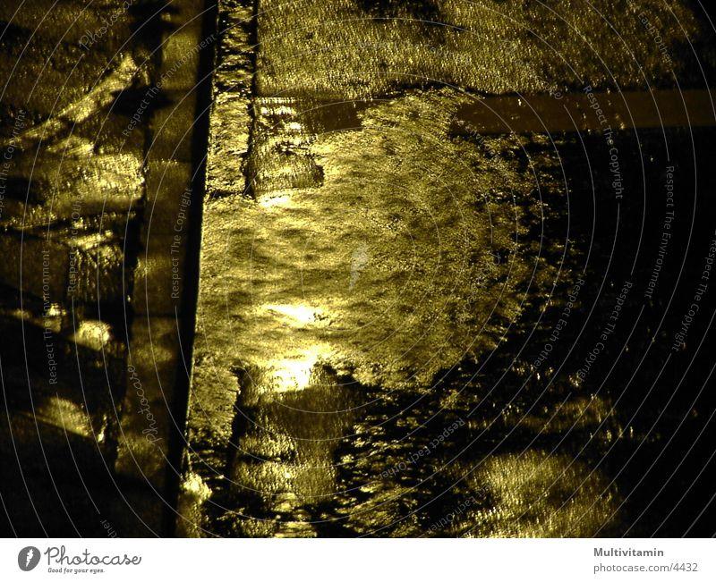 Straßenregen Nacht Regen
