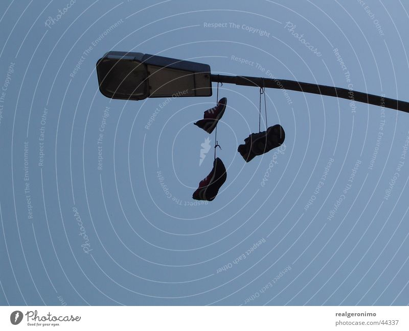 mlr Himmel Schuhe Laterne obskur Knoten Schuhbänder