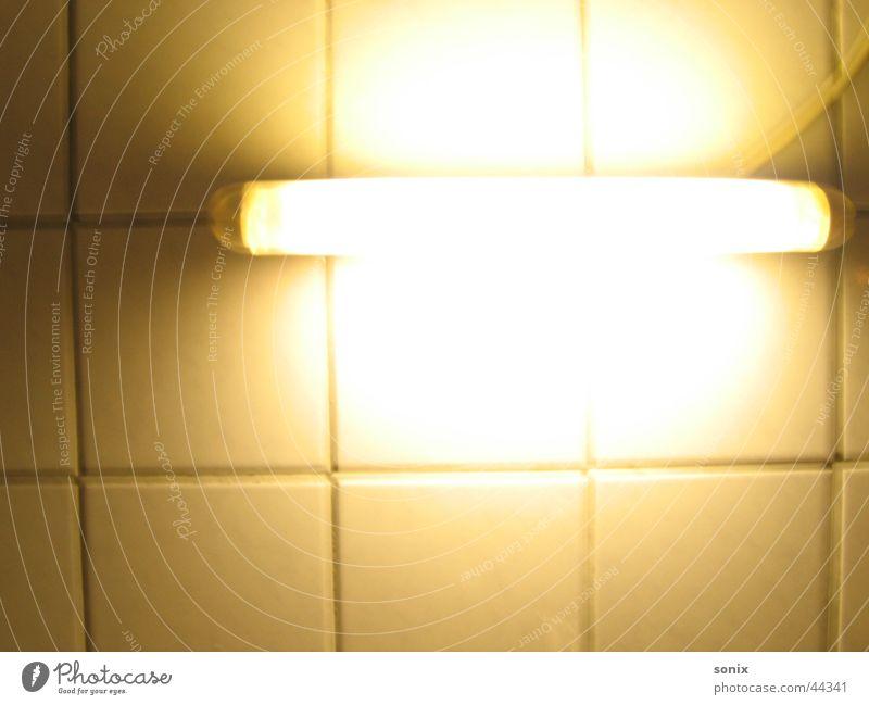 Licht ins Dunkle alt Lampe Küche Neonlicht