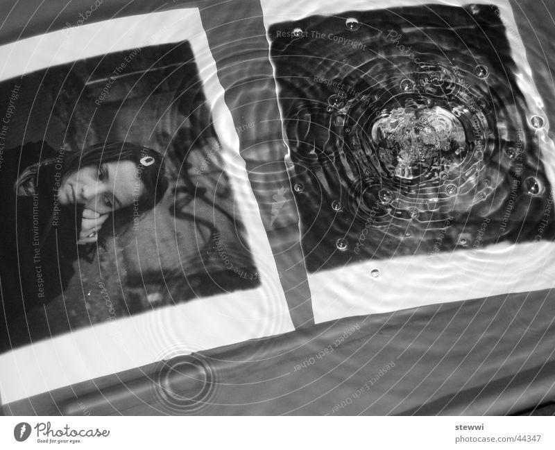 Tropfen Frau Wasser Traurigkeit Regen Wellen Fotografie nass Wassertropfen Kreis Trauer weinen Labor Tränen schwingen Entwicklung Erfinden