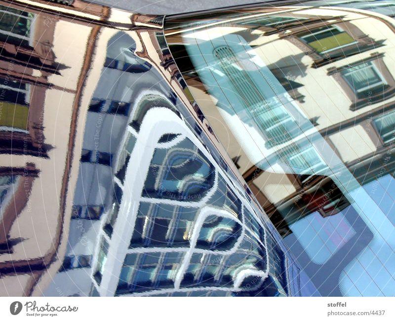Spiegelung Stadt Reflexion & Spiegelung Haus Architektur PKW