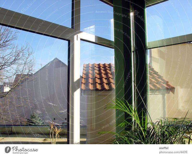 Lost palmas Haus Fenster Architektur Dach