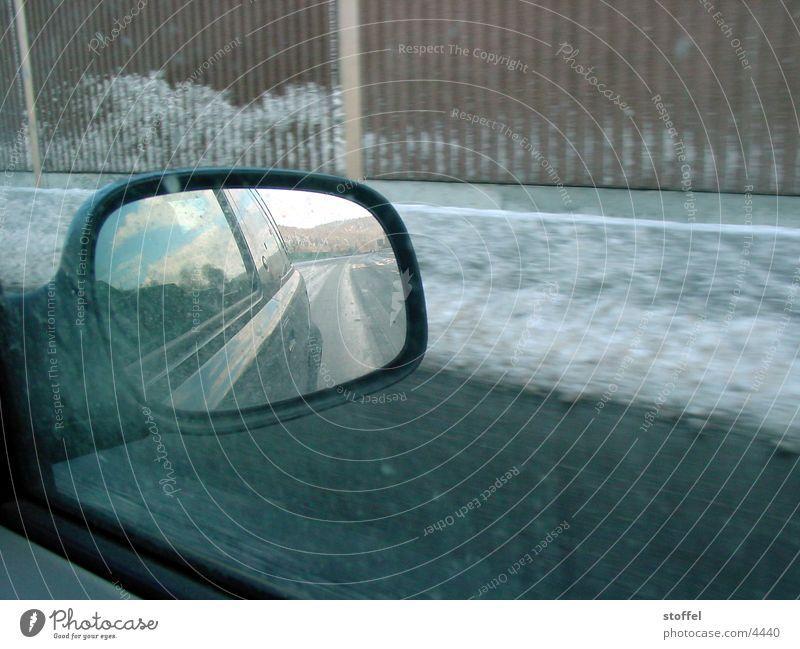A66 Winter PKW Spiegel