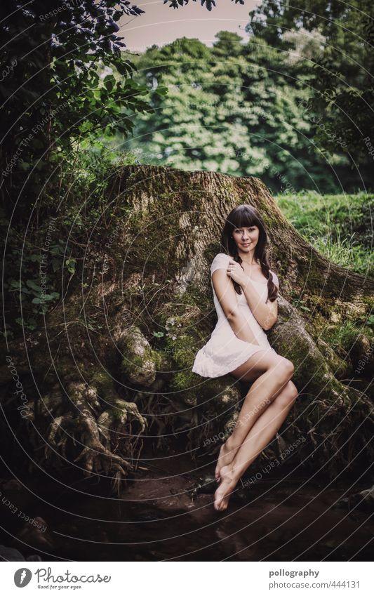 hold me Mensch feminin Junge Frau Jugendliche Erwachsene Leben Körper 1 18-30 Jahre Umwelt Natur Landschaft Pflanze Wasser Sommer Schönes Wetter Baum Sträucher