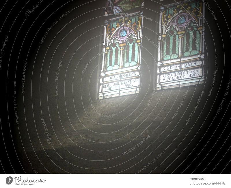 wo gott wohnt Fenster Religion & Glaube mystisch Aussehen Gotteshäuser Lichteinfall