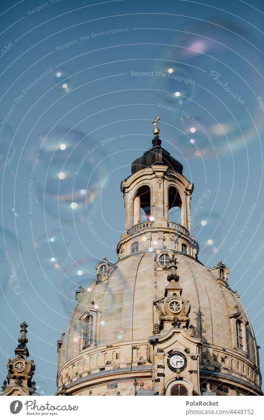 #A0# Dresdens Alte Dame II Dresden Frauenkirche Dresden Altstadt Kuppeldach Barock altmodisch historisch Historische Bauten Kirche evangelisch Wahrzeichen