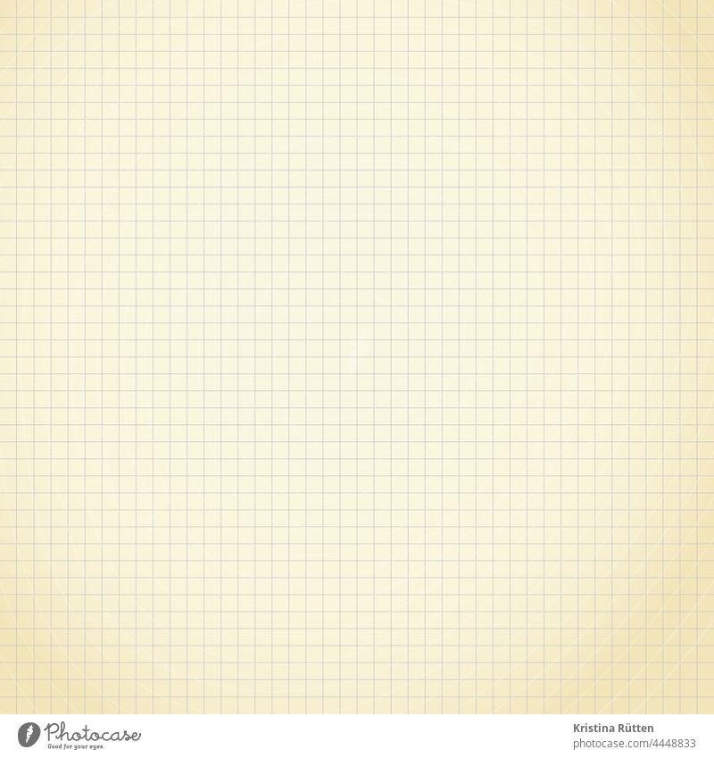 ein stück kariertes papier karopapier block zettel notizblock notizzettel schmierzettel schmierblatt notieren beschriften hintergrund textfreiraum patina