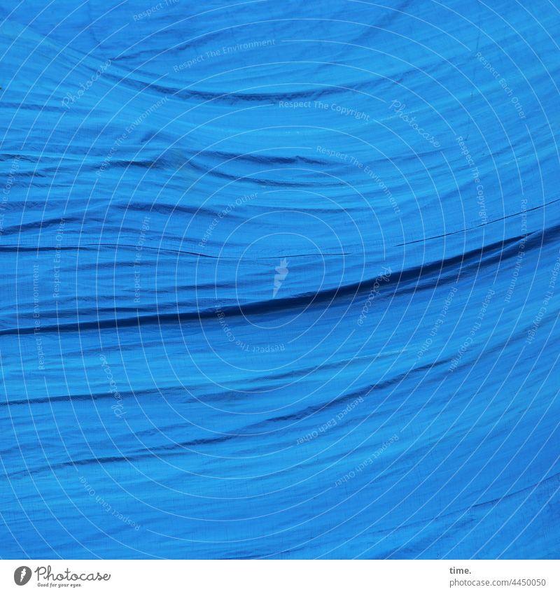 voll verplant (9) plane bauplane falte abgedeckt schwung blau baustelle sicherheit schutz