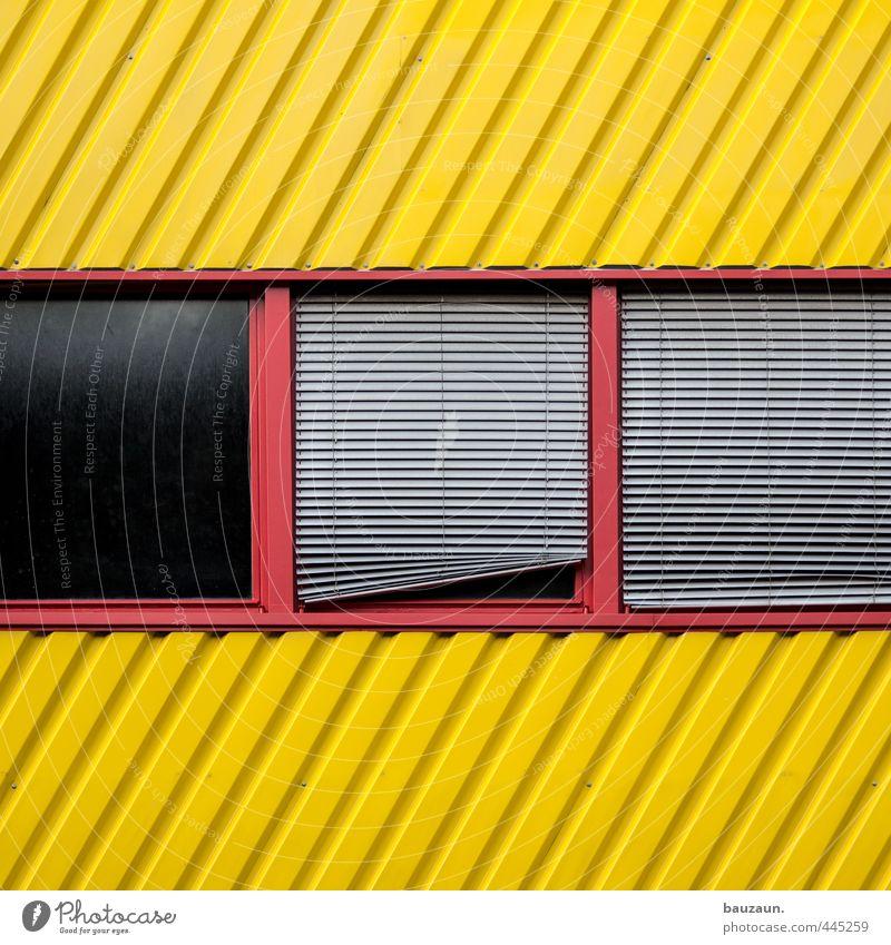 | / _. Arbeitsplatz Industrie Handel Güterverkehr & Logistik Schönes Wetter Industrieanlage Fabrik Bauwerk Gebäude Mauer Wand Fassade Fenster Rollo Wetterschutz