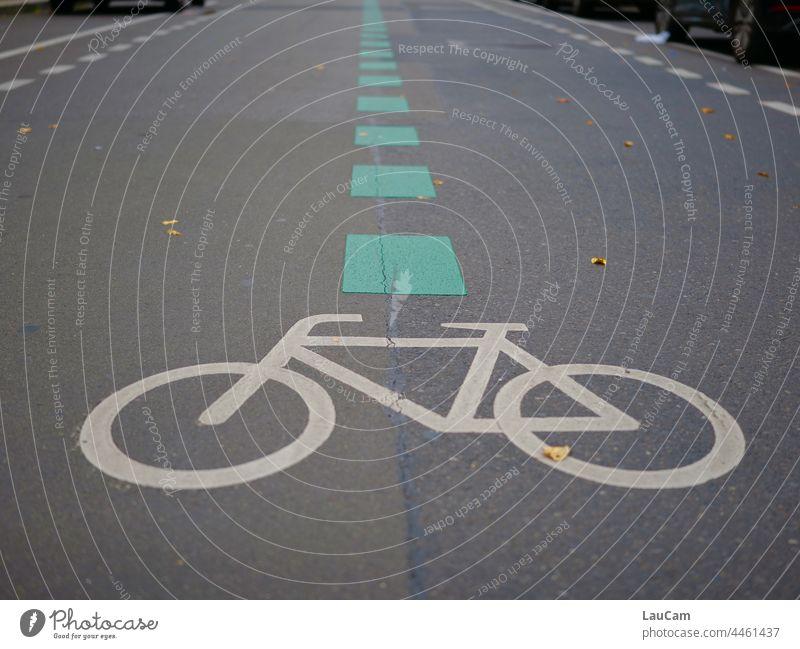 Fahrradstraßen braucht die Stadt! Fahrradfahren Fahrradweg Fahrradtour grüne Stadt autofrei autofreie Stadt Radfahren Verkehr Straße Verkehrswege Straßenverkehr