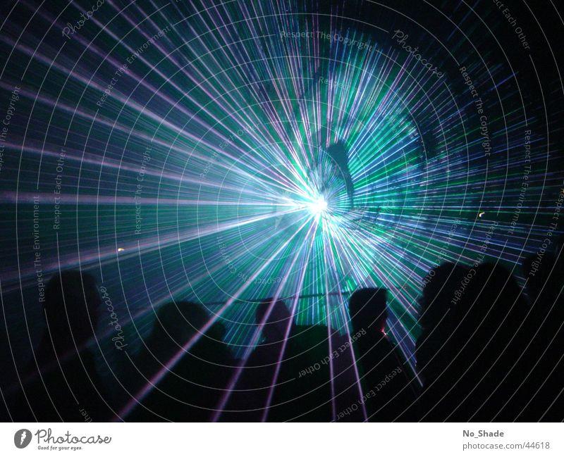 Laser 2 Licht Lasershow Party Disco obskur Lichterscheinung Light Partystimmung