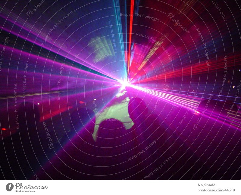 Laser 1 Party Disco obskur Laser Lasershow