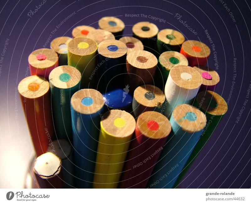 Buntstifte-1 Farbe Holz streichen Schreibtisch zeichnen Schreibstift Künstler Farbstift Farbmittel