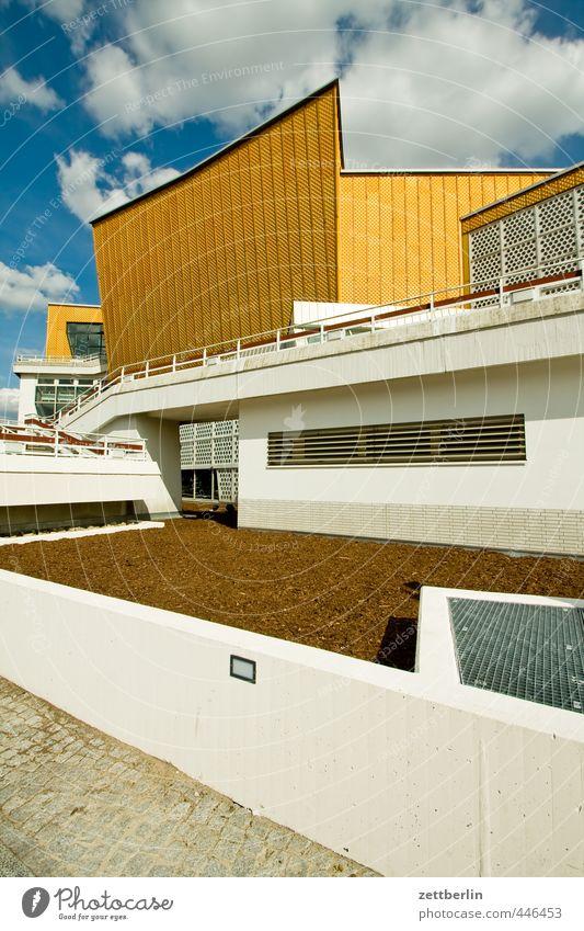 Berliner Philharmonie Ferien & Urlaub & Reisen Sommer Haus Wand Spielen Mauer Architektur Gebäude Kunst Musik Treppe Tourismus Kultur gut Bauwerk
