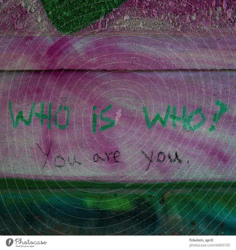 Antwort - streetart philosophy II Wort worte Philosophie philosophisch Fragen Englisch Schriftzeichen Text Typographie Buchstaben Wand Graffiti Fassade Mauer