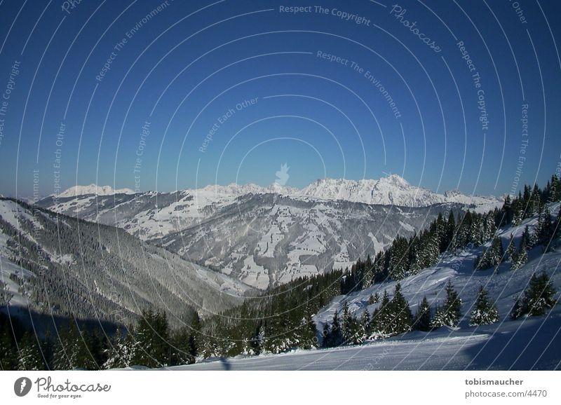 mountains Winter Berge u. Gebirge Schnee Sonne