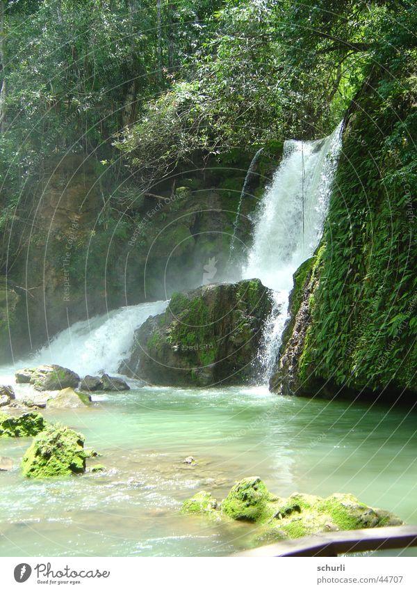 YS Wasserfall Jamaika Wasser schön Ferien & Urlaub & Reisen Wasserfall Jamaika