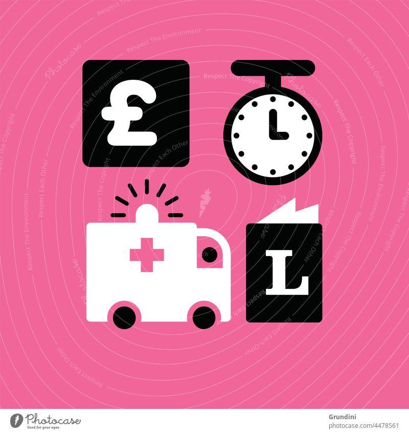 Medizinische Ausrüstung medizinisch Gesundheit Krankenhaus Grafik u. Illustration Gesundheitswesen Praxis Pharma Apotheke medizinische Ausrüstung Krankenwagen