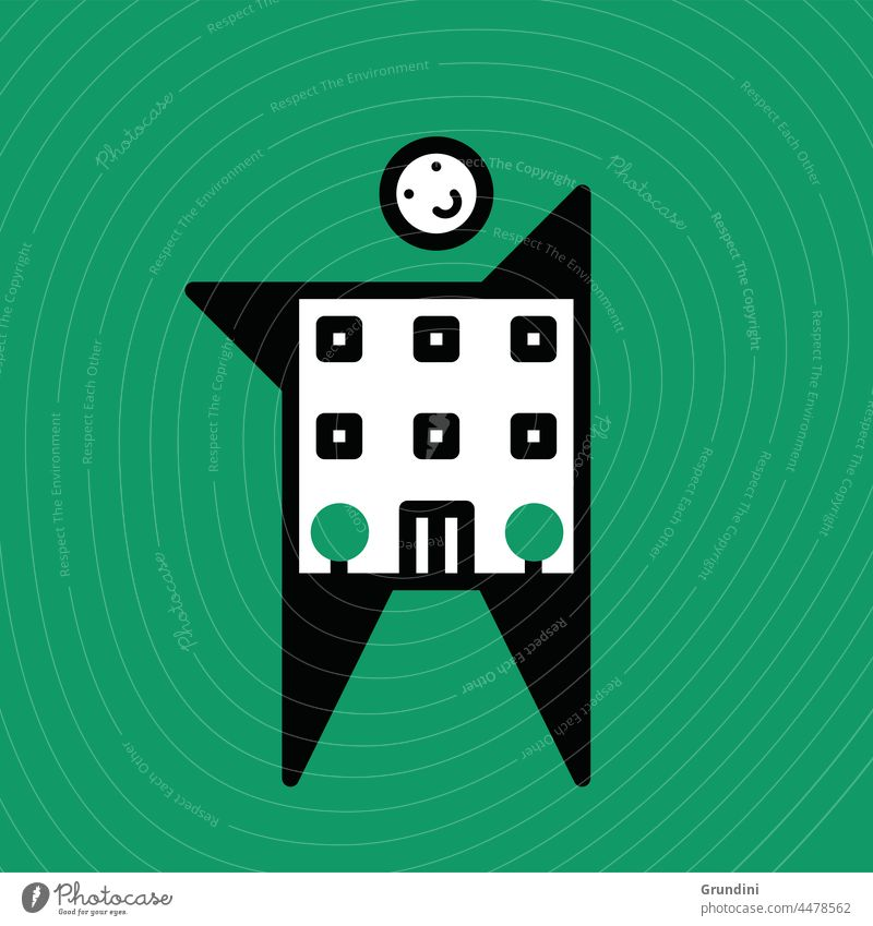 Krankenhausbesuch medizinisch Gesundheit Grafik u. Illustration Gesundheitswesen Praxis Pharma Apotheke Arzt Gebäude Bauarbeiter