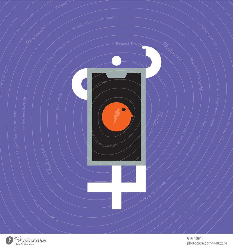 Telefon Arbeit Grafik u. Illustration Büro Schriftzeichen Mobile Kopf