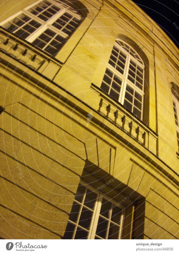 Opernhaus Nacht Chemnitz historisch Architektur Theaterplatz alt