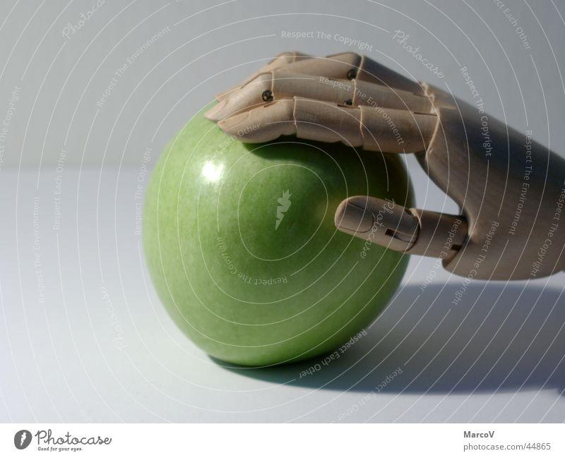 Der Apfel 2 grün Ernährung Frucht