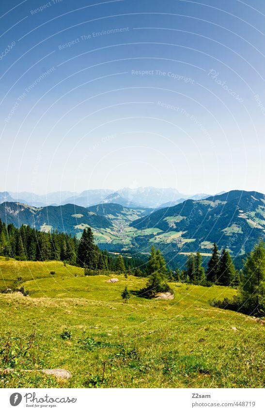 Wildschönau Natur Ferien & Urlaub & Reisen blau grün Sommer Baum Erholung ruhig Landschaft Wald Berge u. Gebirge Wiese Freiheit natürlich Freizeit & Hobby