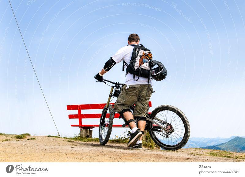 HERMINATOR Natur Jugendliche Ferien & Urlaub & Reisen Sommer Landschaft Junger Mann Erwachsene 18-30 Jahre Berge u. Gebirge Freiheit Stil Freizeit & Hobby