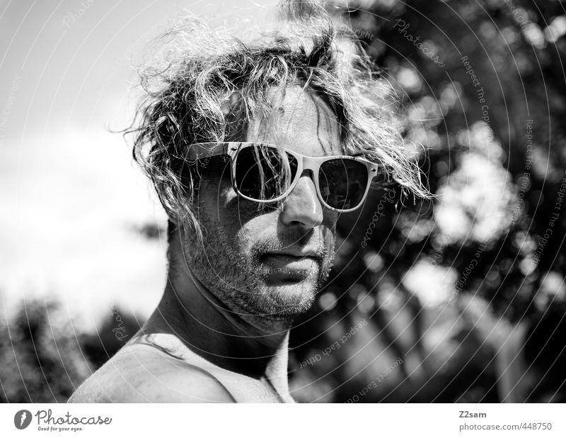 MR FAHRY Mensch Jugendliche Baum Erholung Junger Mann Erwachsene 18-30 Jahre Freiheit Stil maskulin Freizeit & Hobby Kraft blond Lifestyle Schönes Wetter